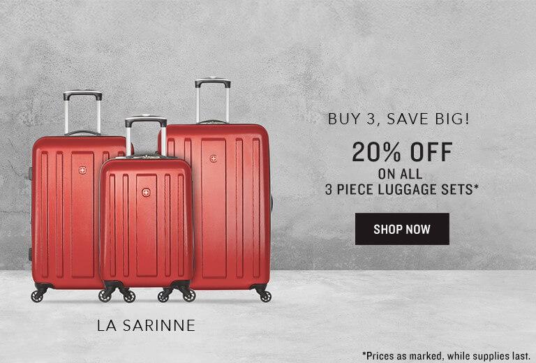 Luggage Sets 20% Off - EN