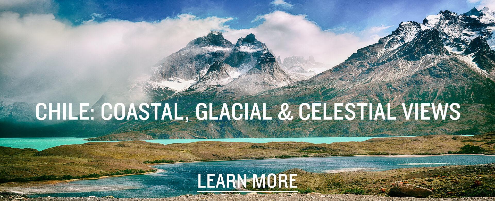 Explore Chile: Coastal, Glacial, and Celestial Views