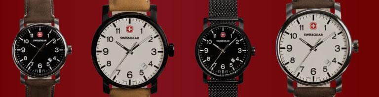 Découvrez la collection de montres Legacy authentiquement suisse de SWISSGEAR