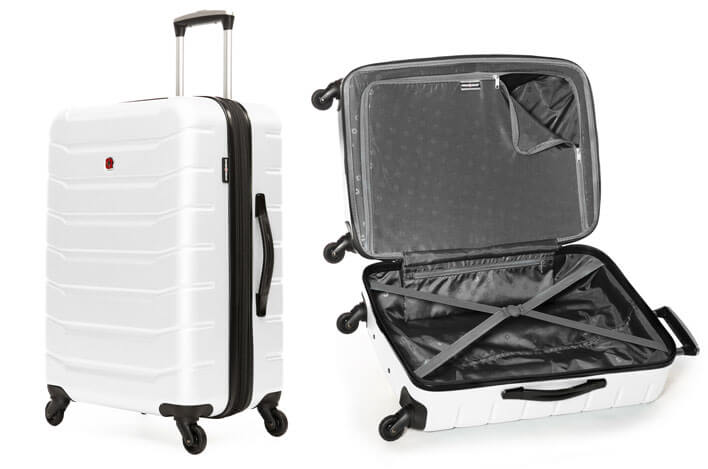 SWISSGEAR VAIANA COLLECTION 24-inch EXPANDABLE HARDSIDE LUGGAGE